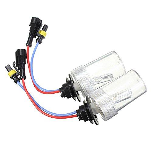 Xenon Bulbs - SODIAL(R) 75W CAR HID KIT AC Ballast H1 8000K Xenon Bulbs Lamp