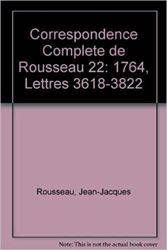 Correspondance Rousseau 22 CB pdf