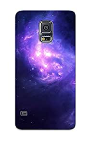 Fashionable Style Case Cover Skin Series For Galaxy S5- Violet Nebula