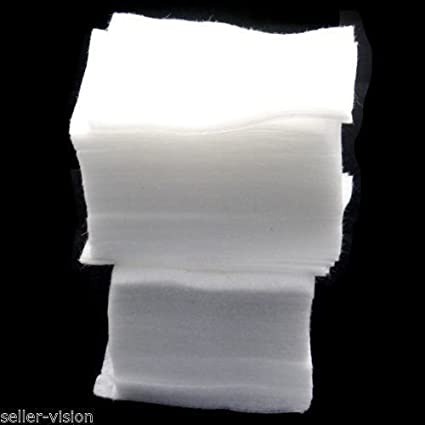 Toallitas suaves para quitaesmalte, manicura o pedicura, no suelta pelusa, 200 unidades