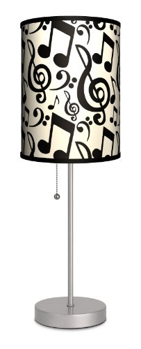 Music - Musical Notation Sport Silver (Music Lamp)