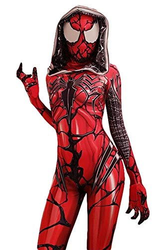 Cosplay Costumes For Women (AestheticCosplay RED GWENOM LENSE)