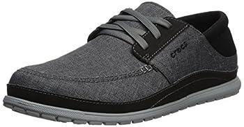 Crocs Men's Santa Cruz Playa Lace M Sneaker, Slate Greylight Grey, 10 M Us 0