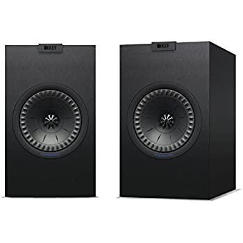 KEF Q150 Bookshelf Speakers (Pair, Black)
