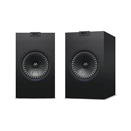 Parlante : KEF Q150 Bookshelf Speakers (Pair, Black)