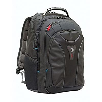 SwissGear Carbon II Black Notebook Backpack-Fits Apple Macbook Pro 15 inch and 17 inch lovely