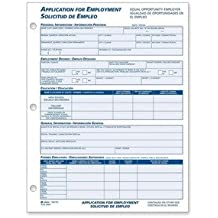 ABF9661ES - Adams business forms Adams Bilingual Employment Application Forms