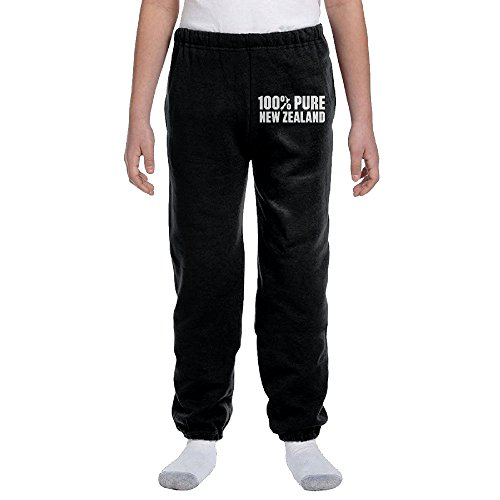 Fantastic 100 Percent Pure New Zealand Map Sweatpant Closed Bottom Boys&girls Long Top - Cent Map