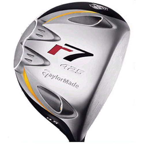 TaylorMade Men's r7 Quad 425 Driver (Right-Handed, 10.5 Degree Loft, RE-AX Graphite Regular Shaft) (Taylormade R7 Quad Driver)
