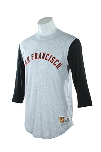 - San Francisco Giants Mitchell & Ness Men's Scoring Position 3/4 Sleeve Raglan T-Shirt (Medium)