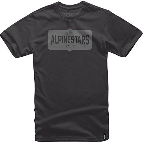 Alpinestars Mens Craft Short-Sleeve Shirt Large Black