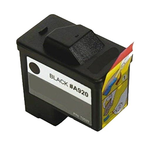 Compatible 1-pack Dell Series 1 720/A920 Black Ink Cartridge (T0529)
