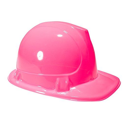 Pink Construction Hats 12 pack