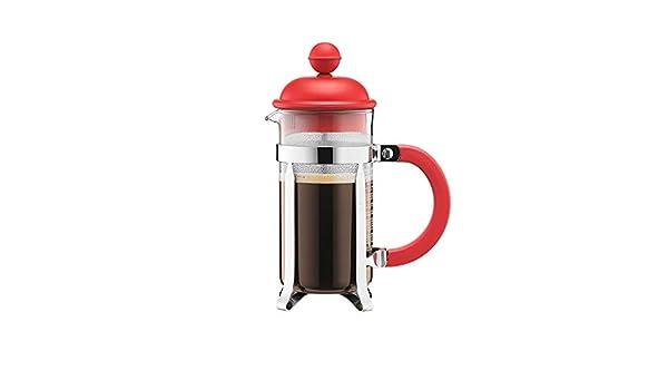 Cafetera a presión de mano, 350 ml, mini cafetera portátil de tres colores con filtro de prensa para la oficina al aire libre, esencial para aliviar el estrés y revitalizar: Amazon.es: Hogar