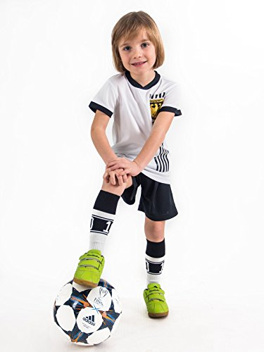 Trikotset Trikot Kinder 4 Sterne Deutschland WUNSCHNAME Nummer Geschenk Größe 116-170 T-Shirt Weltmeister 2014 Fanartikel EM 2016