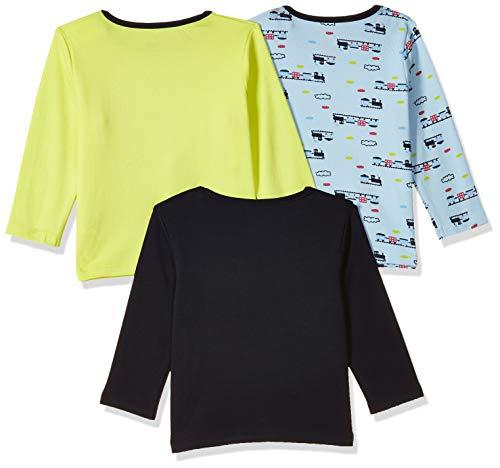 Amazon Brand – Jam & Honey Baby Boy's Starred Regular fit T-Shirt (Pack of 3)