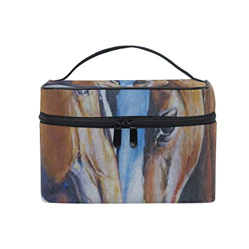 All agree Cosmetic Bag Oil Painting Horse Artwork Womens for sale  Delivered anywhere in USA