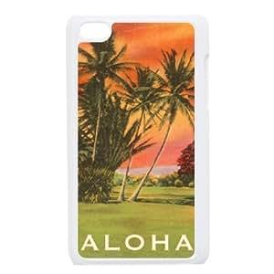Love Aloha Unique Design Case for Ipod Touch 4, New Fashion Love Aloha Case
