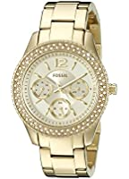 Fossil Women's ES3589 Stella Gold-Tone Stainless Steel Watch