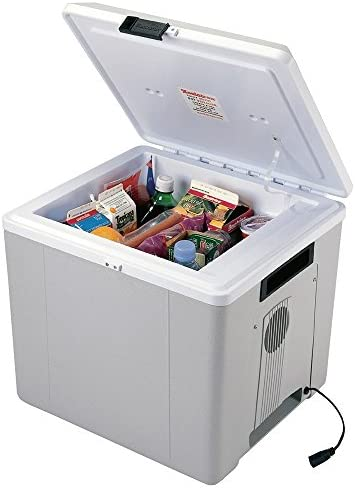 Travel Cooler and Warmer. 27.5 Liter 29 Quart 12 volt Thermoelectric Iceless Fridge. Perfect