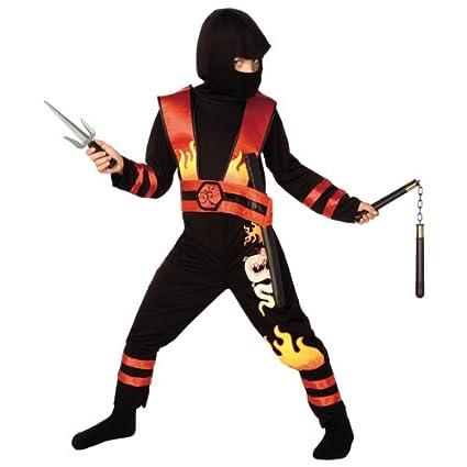Jumca Sprl - Disfraz de ninja para niño: Amazon.es: Juguetes ...