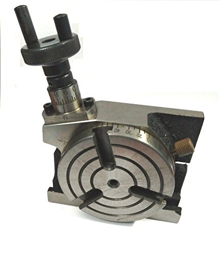 3'' Inches (75 mm) Quality Rotary Table -3 Slots for Milling-Engineering Tools by Global Tools