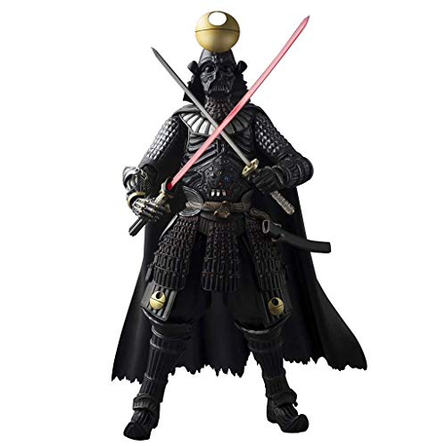 (Samurai General Darth Vader Death Star Armor Action Figure Japanese Samurai Style Model Equipped with Weapon Accessories)