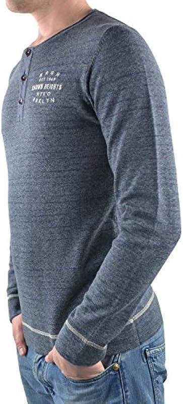 s. Oliver sweter niebieski melanż, kolor: niebieski , rozmiar: l: Odzież