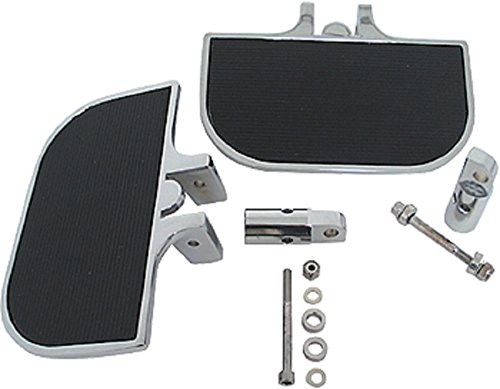Kit Footboard (Orange Cycle Parts Universal Mini Footboard Kit for Motorcycle w/Clevis Style Mounting Brackets)