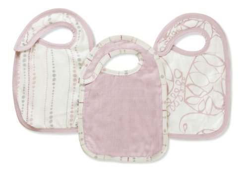 Aden + anais Rayon From Bamboo Fiber Snap Bib, Tranquility Color: Tranquility NewBorn, Kid, Child, Childern, Infant, Baby