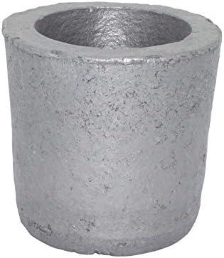 Dumadf Gießerei-Siliciumcarbid-Graphit-Tiegel-Schale, die Goldsilber-Kupfer-Messing-Aluminium für 1KG Kupfer oder 0.4KG Aluminium veredelt