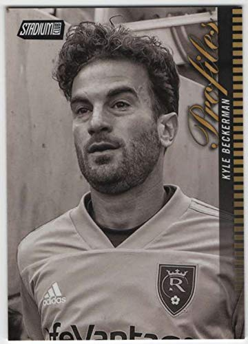 (2018 Topps Stadium Club MLS Soccer Profiles #P-15 Kyle Beckerman)