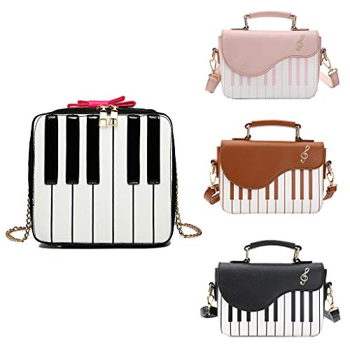 Pink Main Piano Sac Messenger Sacoche À Senoow À Mignon Femmes Sac Bandoulière Bandoulière Forme Dames PY4Uxq6