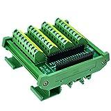CZH-LABS DIN Rail Mount Screw Terminal Block Breakout Module Board for Arduino Nano/Micro.
