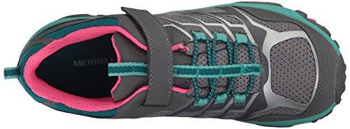 Merrell Moab Fst Low A/C Waterproof Sneaker (Little Kid/Big Kid) Grey/Multi