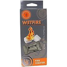 12 Pack Wetfire WET Fire Fire Starter Starting Tinder Camping Survival