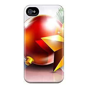 High-end Cases Covers Protector For Iphone 6(reflections Of Christmas Bright)