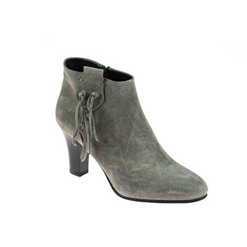 Schuhgröße Schuhgröße Schuhgröße Grau Damen FLIGHT Wildleder Stiefelette TRIVER 39 1941dc
