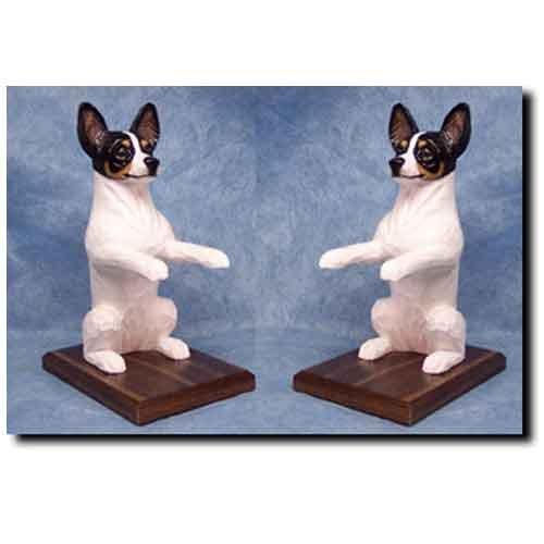 Michael Park Rat Terrier Bookends TRI ()