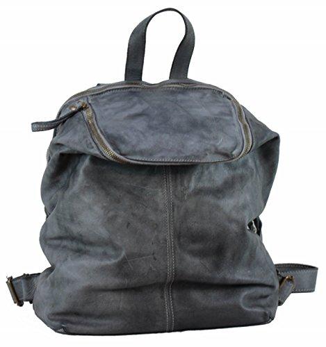 Piel de mochila Bolso gris BOZANA Large BERLIN mujer para gris qpUnZ