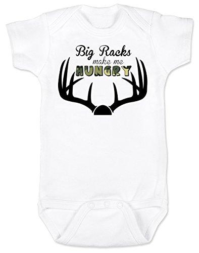 - Promini Cute Baby Onesie - Big Racks - Baby Bodysuit Cute Infant One-Piece Bodysuit Best Gift for Baby