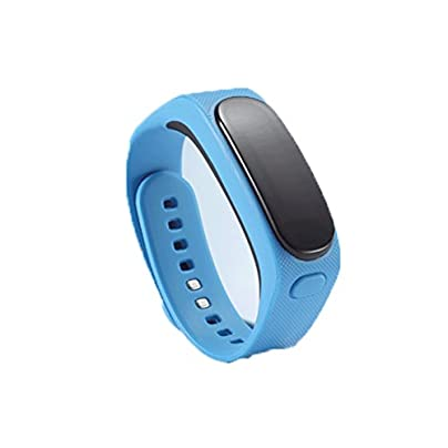 GENOVATION Fitness Tracker Touch Screen Bluetooth Smart Bracelet Smart Wristband with Heart Rate Monitor Pedometer GPS Tracker Waterproof for Android Ios Estimated Price £40.99 -