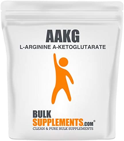 BulkSupplements L-Arginine a-Ketoglutarate AAKG Powder 500 Grams