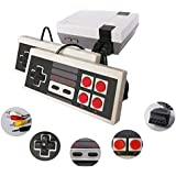KINOEE Classic Handheld Game Console, Built-in 620 Classic Games and 2 NES Classic Controller AV Output Video Games, is…