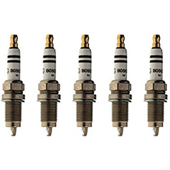 Set of 5 Genuine Volkswagen Spark Plugs for 2.5L Engine 101-905-601-F