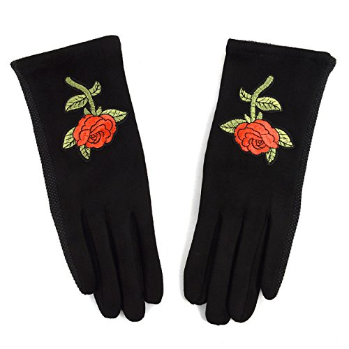 Embroidered Winter Gloves - 2