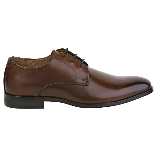Marron Homme Plain Werth Chaussures Toe Peter Curtis qYwaSvx0W8