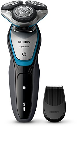 Philips S5400/06 Series 5000 Aqua Touch Electric Shaver with Smart Click Precision...