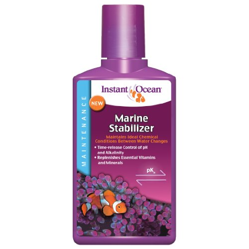 Instant Ocean Marine Stabilizer 8.45 fl oz, for Ideal Aquarium Conditions
