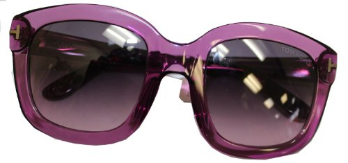 TOM FORD TF 279 CHRISTOPHE 90W CLEAR PURPLE - Cheap Sunglasses Ford Tom